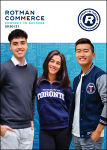 Cover image of Rotman Commerce 101 Viewbook
