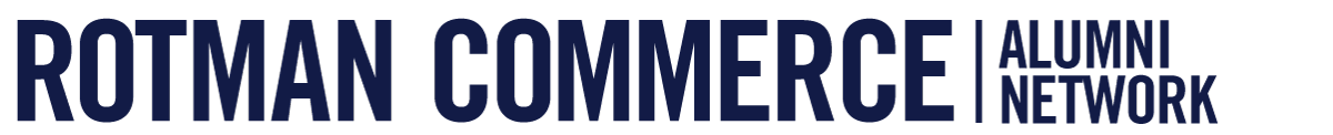 Rotman Commerce Alumni Network logo