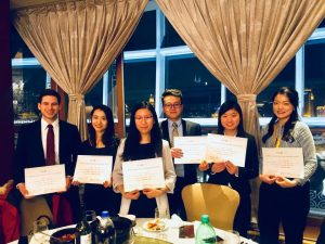 Rotman Commerce winners of the IYLFS 2018 Competition